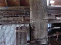 Misc barn lumber