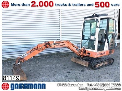 Schaeff Hr 12 Hr 12 For Sale 1 Listings Machinerytrader