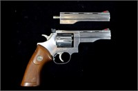Dan Wesson Model 22 Stainless .22 LR D.A. Revolver