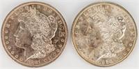 Coin 2 Morgan Silver Dollars 1881-O & 1880-O