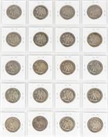 Coin 20 Walking Liberty Half Dollars