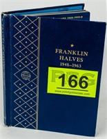 Coin Complete Franklin Half Dollar Set Unc.