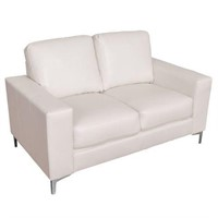 CORLIVING CORY CONTEMPORARY LOVESEAT IN