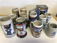 Budweiser Collectible Steins And More