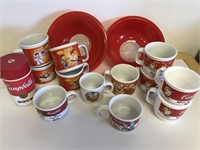 Vintage Campbell's Soup Mugs And More