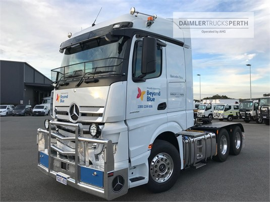 2019 Mercedes Benz Actros 2658LS StreamSpace Daimler Trucks Perth - Trucks for Sale
