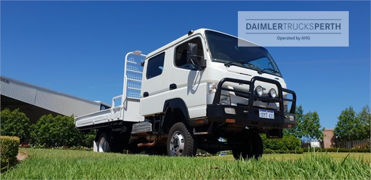 2012 Fuso Canter FG 4x4 Crew Cab Daimler Trucks Perth - Trucks for Sale