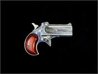 Davis Model D-32 .32 Cal. O/U chrome finish