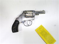 H&R Safety Hammer nickel .32 S&W double action