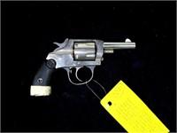 U.S. Revolver (Iver Johnson) nickel finish
