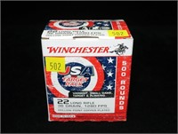 Box of Winchester 500 Rds. .22 LR hollow point