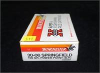 Box Winchester .30-06 springfield 150-grain Power