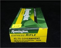Box Remington .45-70 Govt. 300-grain hollow