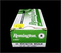 Box Remington .44 REM Mag 180-grain JSP