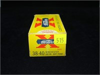Box vintage Western .38-40 180-grain SP