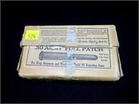 Box vintage Winchetser .30 Army full patch