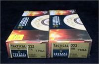 2- Boxes Federal Premium .223 REM 55-grain