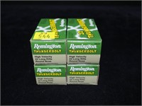 4- Boxes Remington Thunderbolt .22 LR cartridges