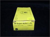 Box UMC .38 Super Auto (+P) 130-grain MC