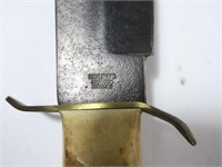 Edge Brand bowie knife with sheath