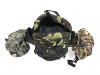 Camo bag with harness