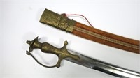 Indian sword with scabbard