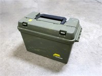 """Large plastic ammo can, 15"""" L, 9"""" H"""