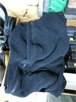 Lot, 3 DSCP cold weather fleece overalls, size L-