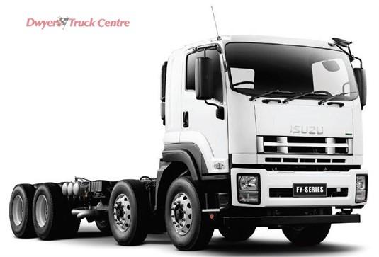 Isuzu FYJ300-350 8x4 PTO