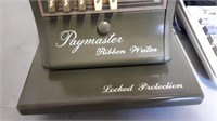 The paymaster ribbon writer and sharp 12 digit 2