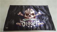 Signed Son-uva Digger Monster Truck Flag 22