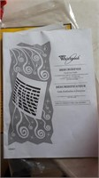Whirlpool Dehumidifier. Moisture Removal 70
