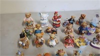 Lot Of Cherished Teddies Collector Figurines And