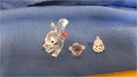 2 Swarovski Crystals That Have Damage