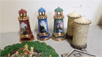 Wall Decor, Candles, And Decorative Light Houses