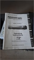 To Panasonic Vhs Players With Remotes