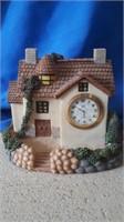 2 Decorative Clocks And 1 Oil Lamp