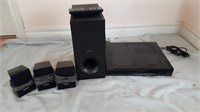 Sony Dvd Player And Speakers