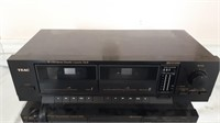 2 Teac Double Cassette Decks W- 350 And Sw-200