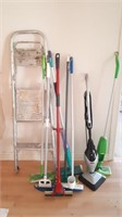 2 Step Ladder, Swiffer Picker Upper, And Other