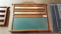 Free the ring game, cricket chalk board, display
