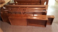 Wooden Captains Bed