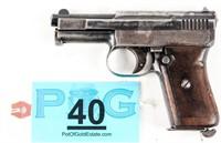 Gun Mauser Model 1910 Semi Auto Pistol in 25 ACP