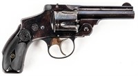 Gun S&W Safety Hammerless Revolver in .38 S&W