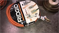 Ridgid 100 ft 10 gauge extension cord, heavy duty