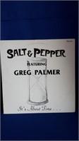 Salt and pepper featuring Greg Palmer