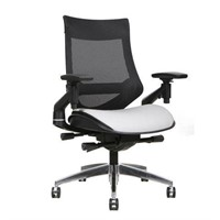 TYGERCLAW MESH BLACK BONDED LEATHER OFFICE CHAIR