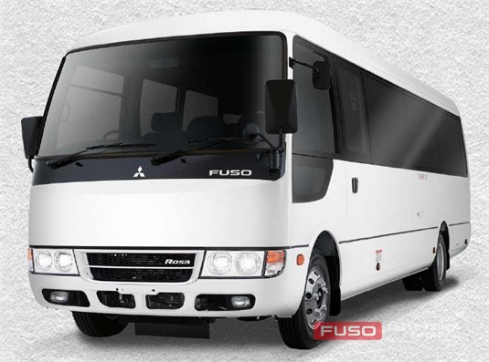 Fuso Rosa Deluxe SWB 22 Seat Manual Bus