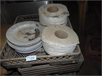 (4) Dish Machine Racks + Contents