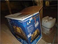 Comfort Flow Vent Burner Gas Logs
